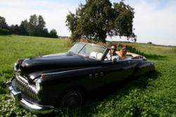 Stephan & Häschen im Buick