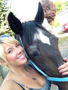 Jill mit ihrer Athena